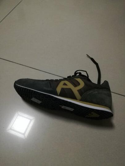 ARMANI JEANS阿玛尼男士休闲鞋935027-7A420 GREEN-09383 6 晒单图