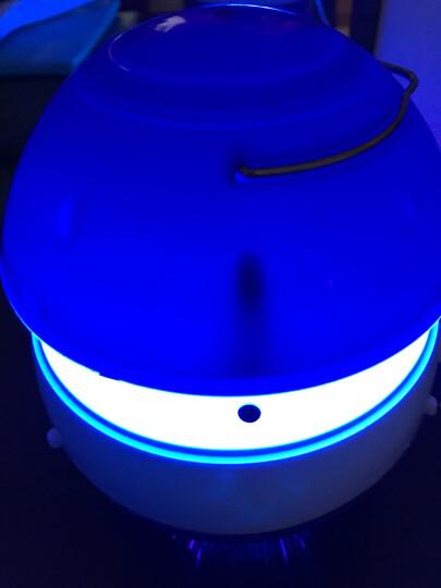 吸入式灭蚊灯 高效节能 孕婴适用 物理家用灭蚊灯驱蚊器 带适配器 白色 晒单图