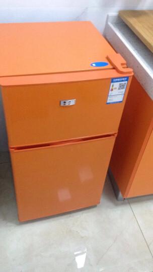 喜力(XIL) BCD-71A 71升 双门小冰箱 冷藏冷冻 家用两门小型冰箱 橙色 晒单图