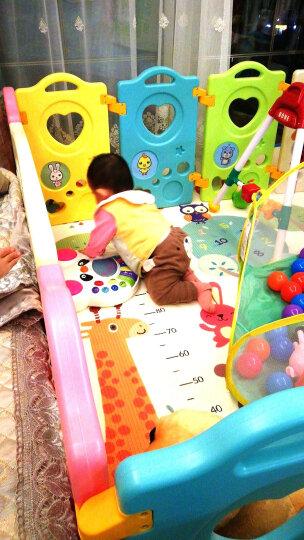 澳乐 儿童游戏围栏婴儿宝宝室内学步安全防护栏婴儿海洋球池爬行垫围栏栅栏 14+2 AW-14AX-WCBF-N 晒单图