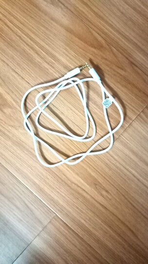 品胜3.5mm立体声音频连接线公对公车载AUX音响音箱功放连接线1.5米双头白色延长耳机线 3.5mm音频延长线公对公1.5m长 晒单图
