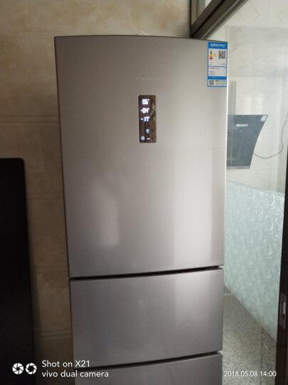 容声(Ronshen) 218升 三门冰箱 家用节能 宽幅变温室 电脑控温 BCD-218D11NY 晒单图