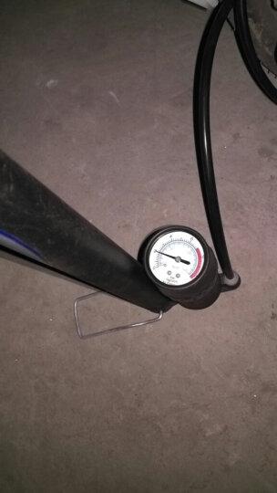 INBIKE 打气筒自行车高压家用汽车充篮球山地电动瓶摩托单车配件 黑色 57CM高 带高压泵 带气压表 晒单图