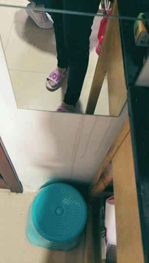 伊莉依美休闲裤女长裤秋冬裤子2018款新品韩版铅笔裤小脚裤学生西裤女士修身 黑色 M码 (建议体重100斤左右穿) 晒单图
