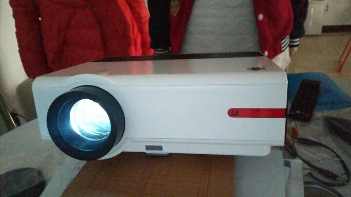 Rigal 瑞格尔RD-808 家用投影仪 高清无线办公投影机 手机投影仪 优雅白 增强版【内置WIFI】 晒单图