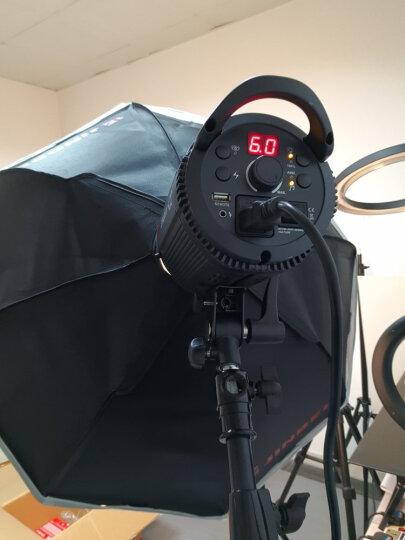 金贝SPARKII400w摄影灯柔光箱摄影棚闪光补光灯电商产品静物服装拍摄人像儿童柔光灯拍照灯 金贝150W灯泡 晒单图