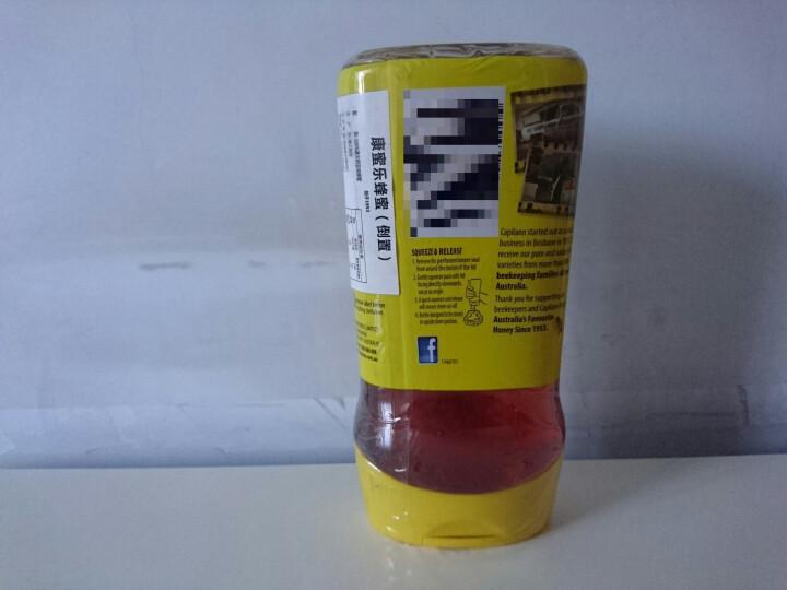 澳洲进口 康蜜乐(CAPILANO) 天然蜂蜜 倒立瓶 500g 晒单图