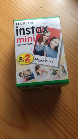 富士instax拍立得相纸白边30张用于mini7c/mini7S/mini90/mini8等型号 白边相纸 晒单图