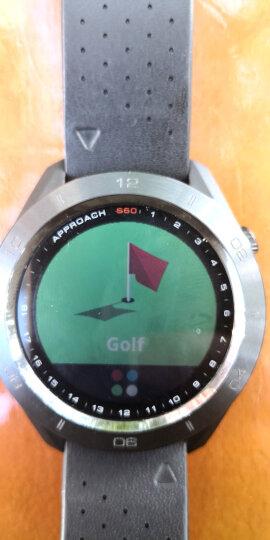 GARMIN佳明高尔夫手表GPS测距仪S60多功能电子球童跑步游泳骑行滑雪手表腕表 S60 普通版 白色 晒单图