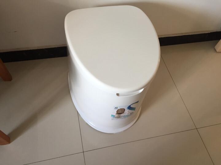 顺嘉利防滑移动马桶坐便器便携式孕妇老人塑料马桶坐便椅 防滑六代驼色房间+厕所两用 晒单图