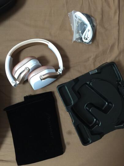 先锋(Pioneer) MJ101BT 无线蓝牙耳机耳机头戴式可通话线控音乐运动耳机 时尚外观 梦幻白 (蓝牙版) 晒单图