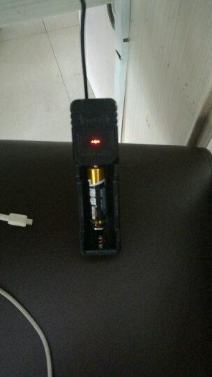 神火(supfire)紫电 新款带保护板18650电池充电 强光手电筒配件4.2V电压 晒单图