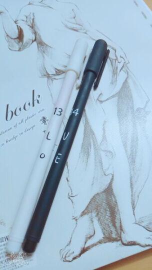 一口米 0.5mm日韩创意时尚情侣中性笔一对两支装黑色水笔对笔 圆珠笔滚珠笔 水笔签字笔巨能写中性笔 星座 情侣笔 0.5mm(两支装) 晒单图