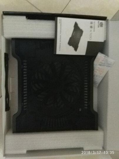 酷冷至尊(CoolerMaster)尊睿X100 9-17寸笔记本散热器(冲网面板/16cm风扇/静音/大风量)黑色 晒单图