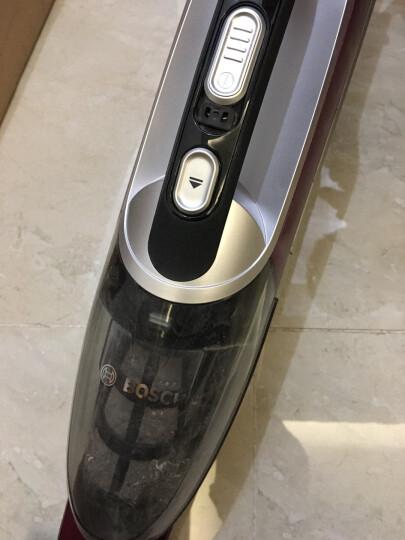 博世(BOSCH)吸尘器无线手持立式二合一静音车载家用BBH21634CN霓彩红 晒单图