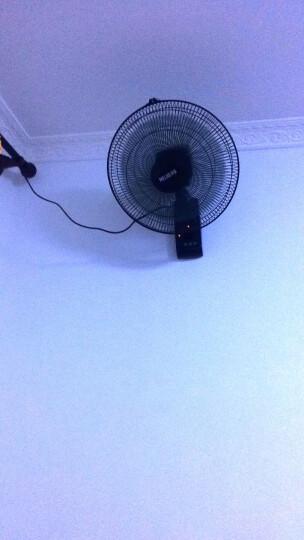 美菱(MeiLing)挂壁式电风扇家用静音大风量五叶机械/遥控款风扇 FB16-1RC 晒单图