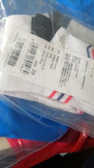 TOREAD kids  探路者童袜户外运动 春装秋装男童中筒袜(1双)儿童袜子 白色 22-24cm 晒单图