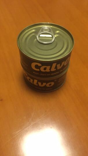 西班牙进口Calvo凯芙橄榄油浸金枪鱼80g即食沙拉寿司吞拿鱼肉罐头早餐沙拉搭配汉堡面包 晒单图
