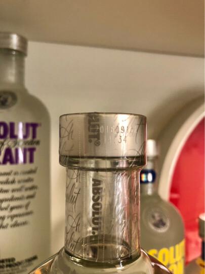 洋酒Absolute Vodka 瑞典伏特加700ml/750ml 香草味 晒单图
