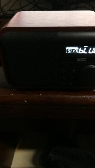 朗技D90无线蓝牙音箱闹钟木质 便携式老人收音机插卡U盘迷你音响手机小低音炮播放器外放 胡桃木【插卡版】+8G卡内含3000首歌曲+歌本 晒单图