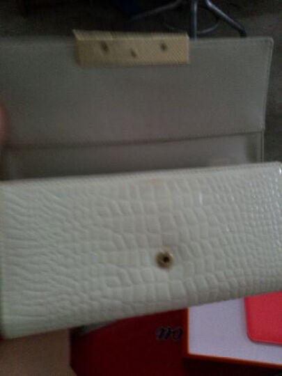 Viney 钱包 女长款女士钱包新款女式卡包手拿包女牛皮手包女 米白色 晒单图