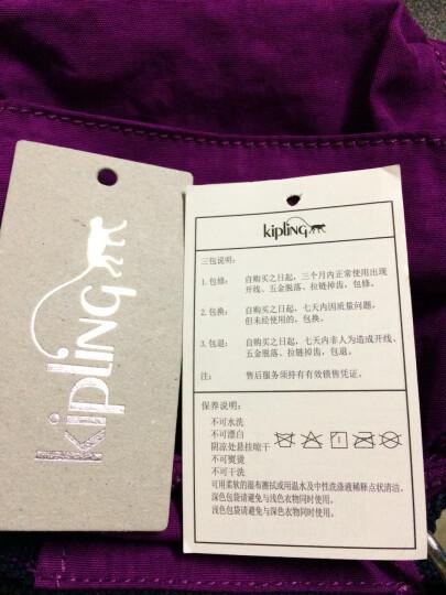 Kipling凯浦林迷你女包单肩包女双肩包女背包K08249 蓝紫万花筒印花 晒单图