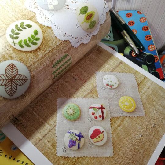 小巧刺绣花样的胸针和马卡龙零钱包 晒单图