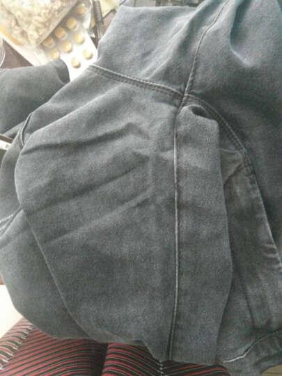 玫恋妃 连衣裙雪纺2018女装春夏新款高腰修身显瘦蕾丝假两件套气质阔腿连体裤套装女  9953 红条+黑上衣 XL 晒单图