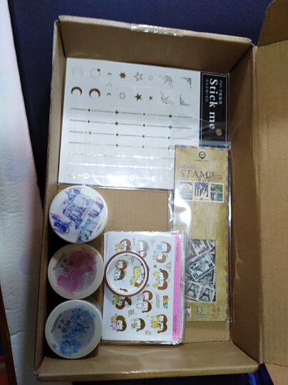 世界邮票手账小贴纸包 手帐相册物品装饰封口贴 晒单图