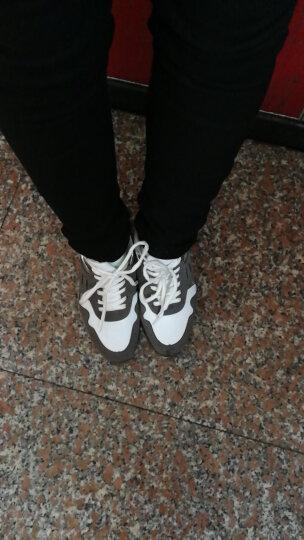 圣大保罗女鞋 时尚百搭运动鞋韩版平底舒适跑步鞋休闲鞋子 深灰 35 晒单图