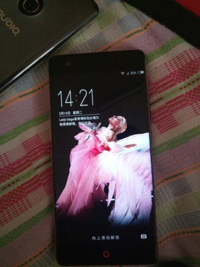 努比亚(nubia)Z17畅享版 无边框 极光蓝 6GB+64GB 全网通 移动联通电信4G手机 双卡双待 晒单图