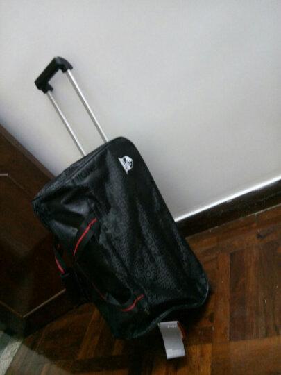 达派dapai拉杆包女旅行包男短途出差行李包大容量轻便登机包拉杆袋手提包旅游包袋842 黑色 晒单图