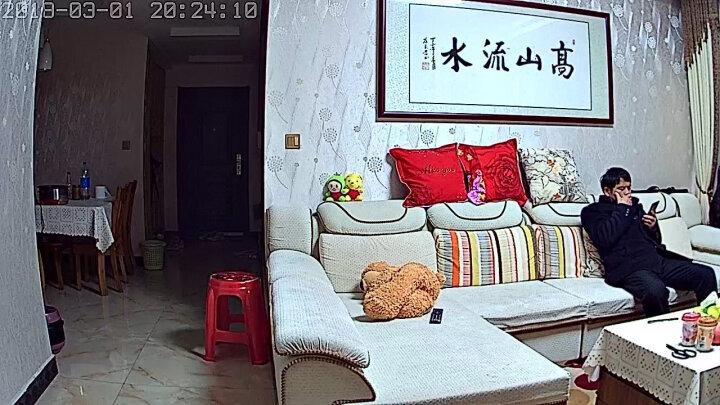 米家 MIJIA 小米 米家智能摄像机 360°全景侦测 红外夜视720P分辨率云台版 晒单图