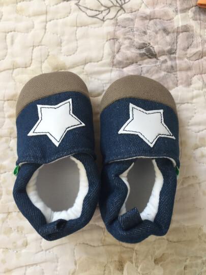 德乐宝(delebao) 德乐宝婴儿鞋0-1岁学步鞋棉布软底宝宝不掉鞋婴儿童鞋 河马 11码数 晒单图