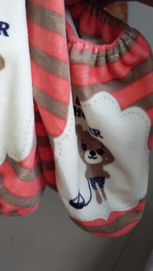 2双起订 可爱卡通儿童短款套袖 宝宝护袖 男女童袖套小孩护袖 玫红色 晒单图