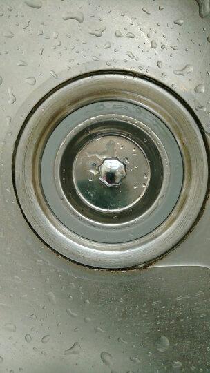 天力SUS304洗菜盆盖子 水槽堵头 水池封水 蓄水配件QS013C008 浅灰色 晒单图