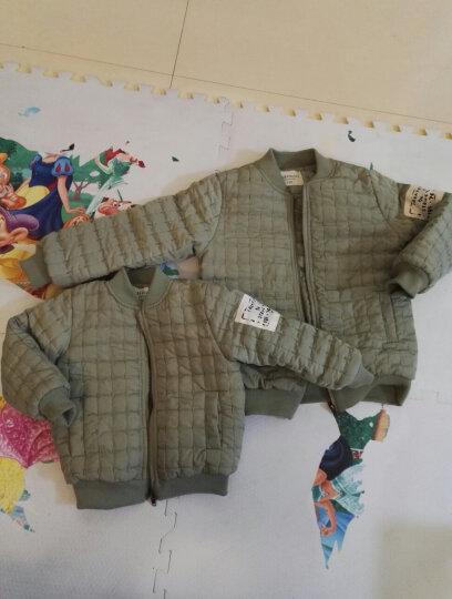 童装男童外套儿童夹克春秋冬装2018新品男孩小童上衣 黑色 120码 晒单图