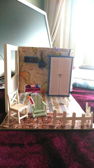 创意手工DIY小屋小房子女孩过家家手工制作拼装模型儿童大人玩具公主房别墅生日礼物礼品女 天使之梦升级版+音乐+人偶 晒单图