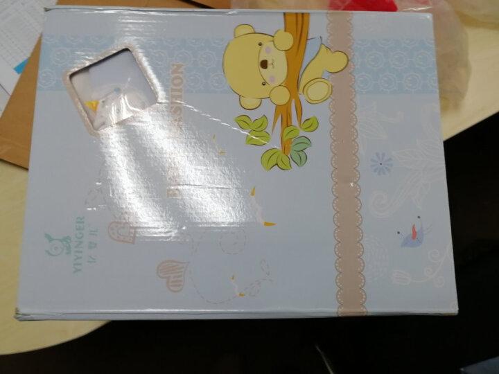 亿婴儿 婴儿礼盒新生儿13件套装婴儿衣服初生用品宝宝满月礼物615 蓝色 59/40  66/44 晒单图