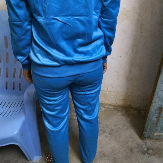 袋袋酷童装儿童运动服男童校服定做班服中小学生校服蓝色韩版小孩运动套装女童演出服青少年春装 宝蓝色 170码适合身高165-175 晒单图