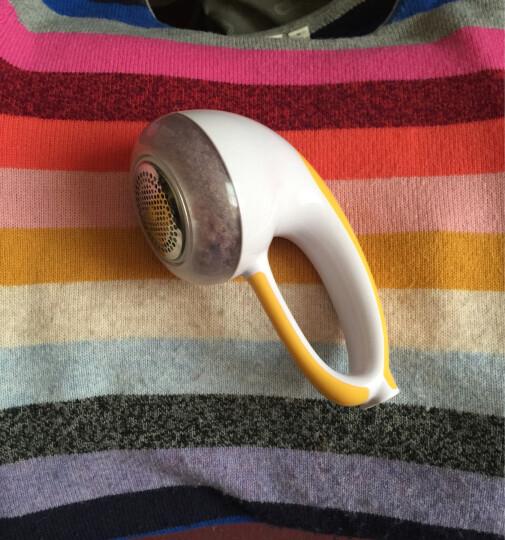 超人(SID)毛球修剪器 SR7802 充电式毛球器去球除毛吸尘剃毛器(白+橙) 晒单图
