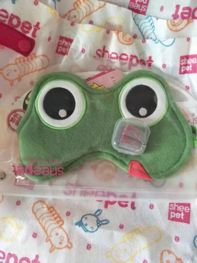 Sheepet舒宠软体公仔 可调节护眼罩 睡眠 遮光男女士可爱睡觉透气 大眼蛙眼罩 晒单图