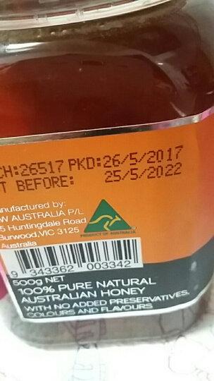 澳大利亚原装进口 欧斯威特(osweet) 橙花(柑橘)蜂蜜 500g 晒单图