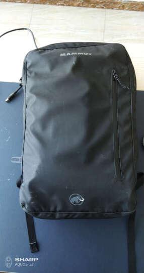 MAMMUT 猛犸象 男女双肩包户外运动包轻便旅行包休闲通勤包背包 2510-03910 黑色26升 晒单图
