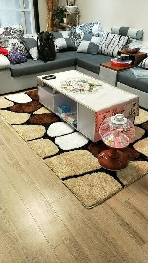 圣名菲 个性弹力丝图案地毯客厅卧室茶几现代英伦简约柔软加厚床边地毯防滑衣帽间 拍照地毯 16号图案 200*300cm 晒单图