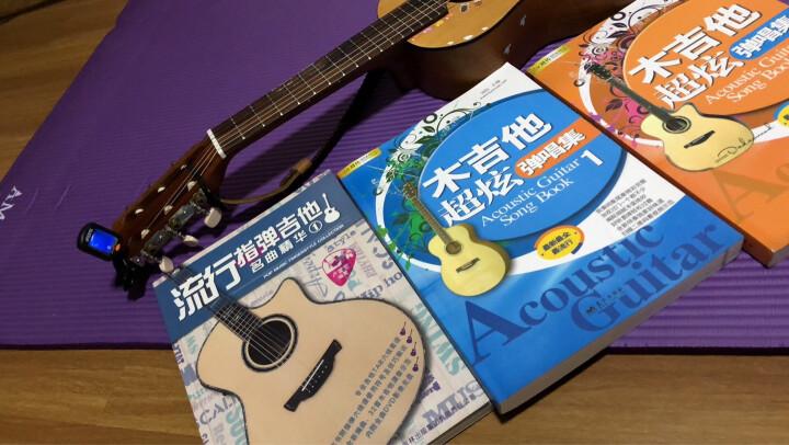 木吉他超炫弹唱集1册刘传编吉他谱教材书籍 成人民谣吉他流行民谣弹唱歌曲二维视频 曲集1 晒单图