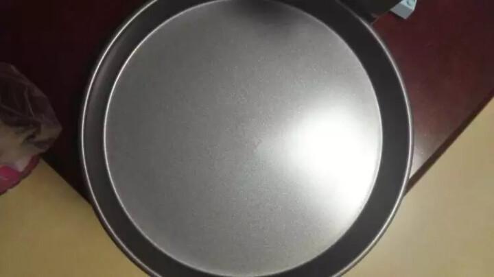 展艺 【包邮 巧厨烘焙】披萨盘 家用烤盘烘焙模具 6寸8寸9寸pizza盘 9寸深盘(22cm) 晒单图