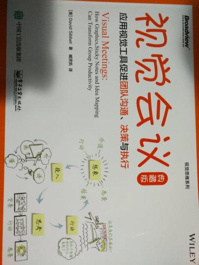视觉会议:应用视觉工具促进团队沟通、决策与执行(典藏版)(博文视点出品) 晒单图