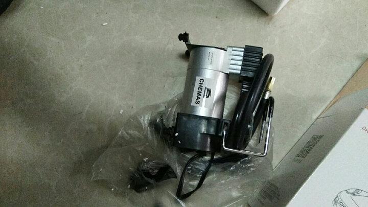 车玛仕(CHEMAS)车载充气泵汽车打气泵电动带胎压表轮胎打气筒12v高压车用电动车充气机 晒单图