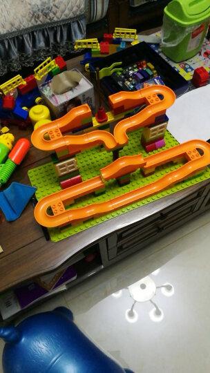 欢乐客 大颗粒儿童积木益智玩具兼容乐高积木男孩女孩子3-6周岁以上拼装塑料我的世界 134颗粒+收纳凳+大底板+4P球罐 晒单图
